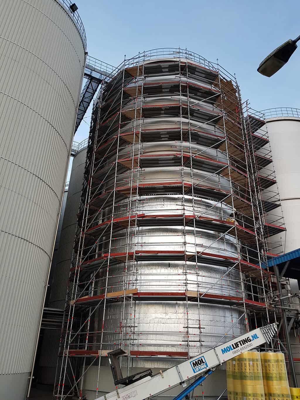 Isolate storage tanks - koole amsterdam